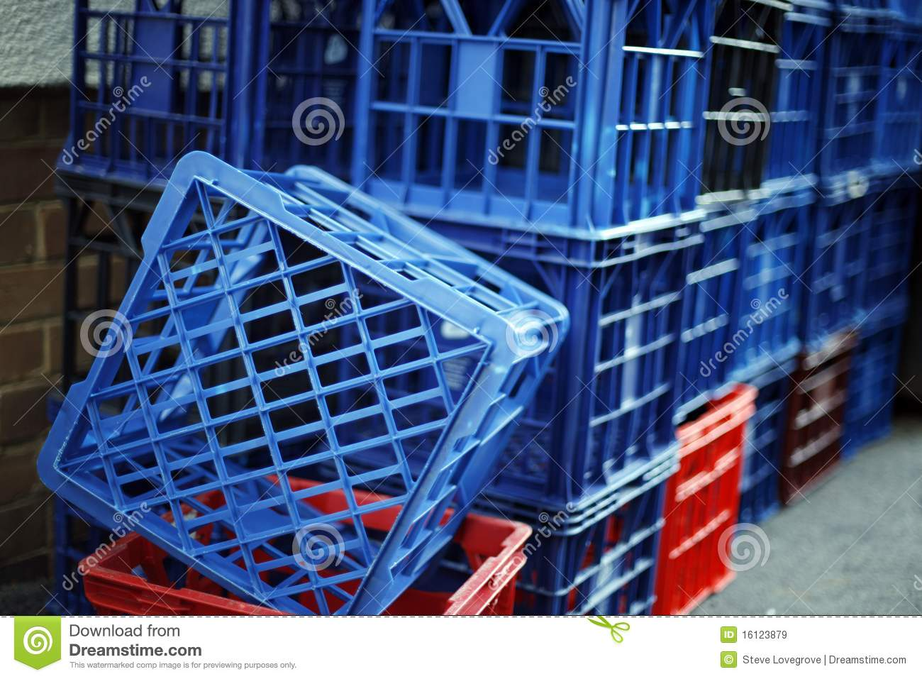 Milk crates royalty free stock images image 16123879 for What to do with milk crates