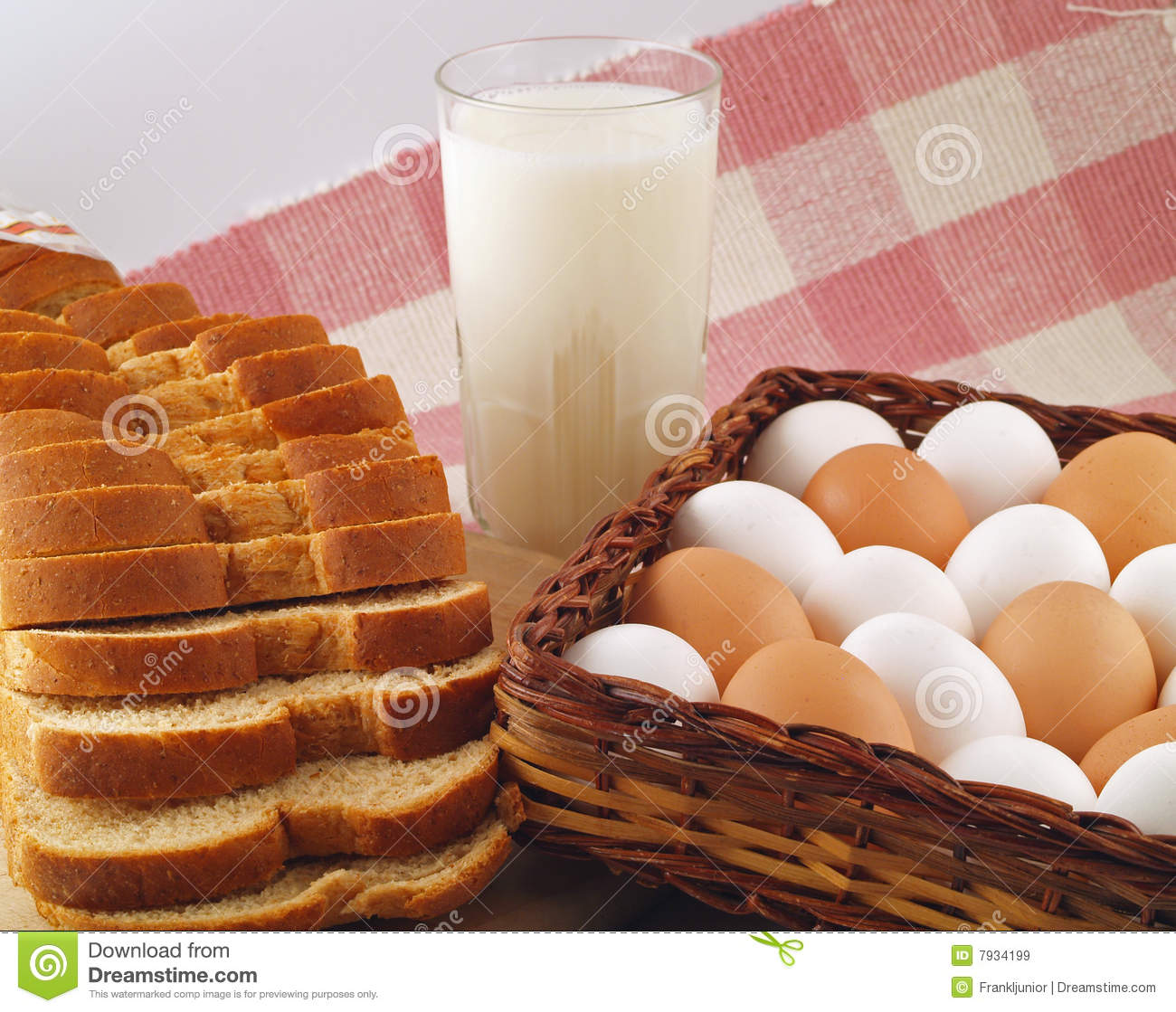 Bread in an egg with milk: a recipe with photos 63