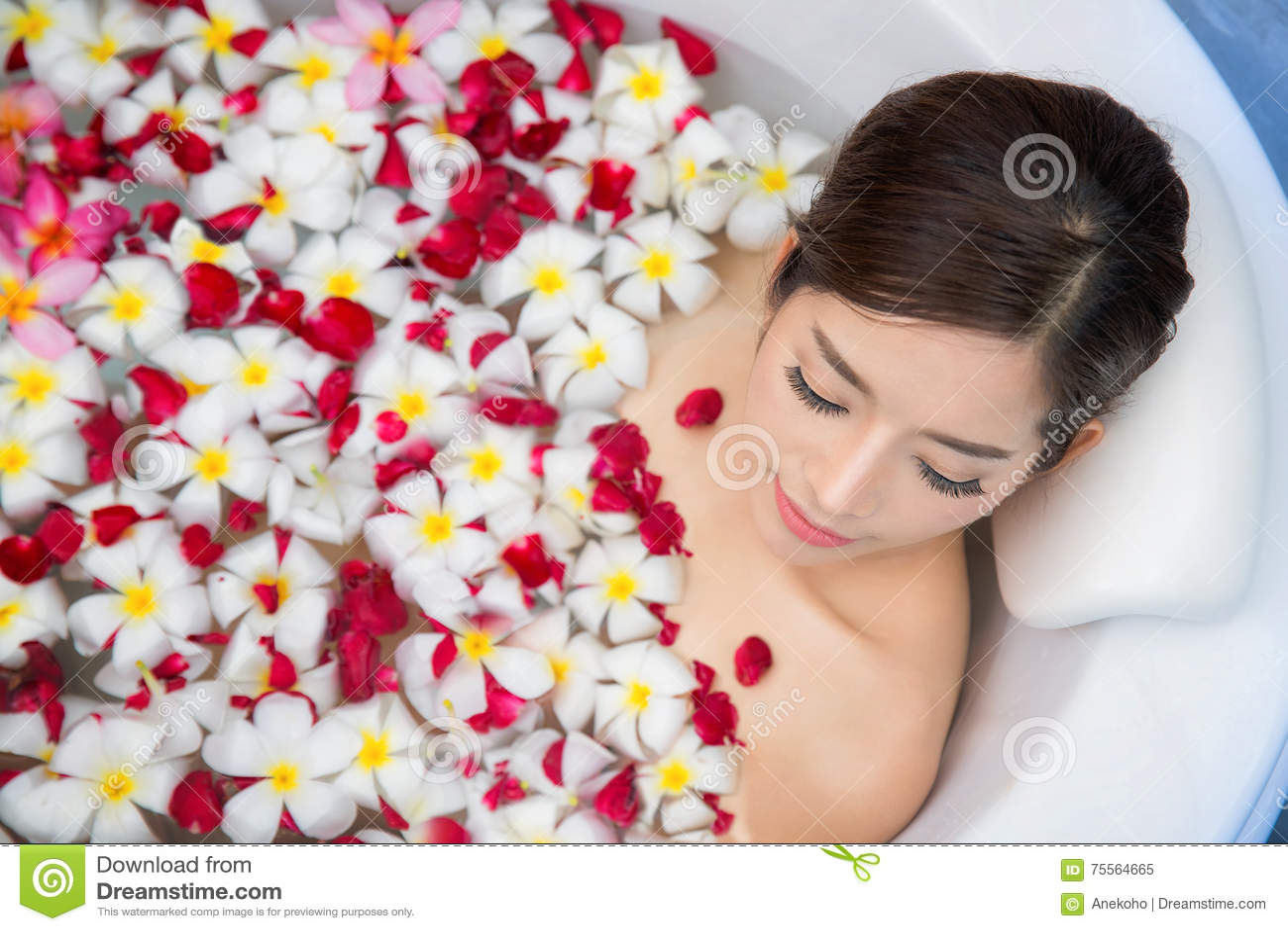 Asian bikini floral understand