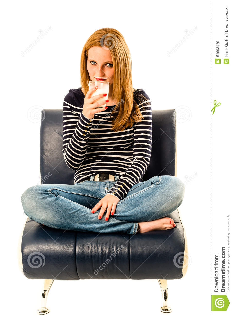 Milk moustache stock photo image 54693420 for Sitting easy chairs