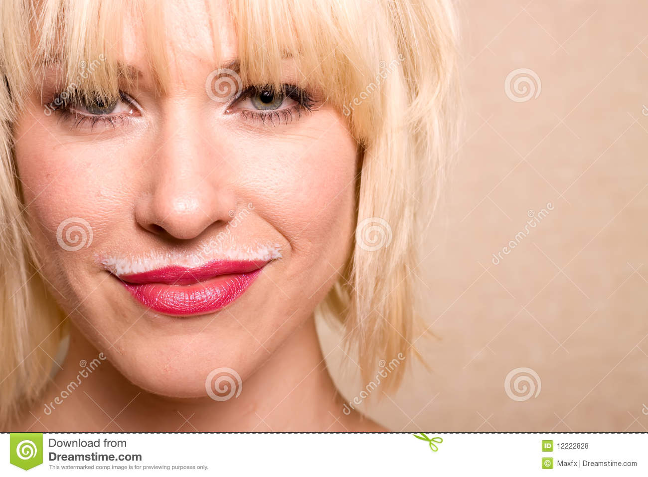 Milk Moustache Stock Photos and Pictures   Getty Images