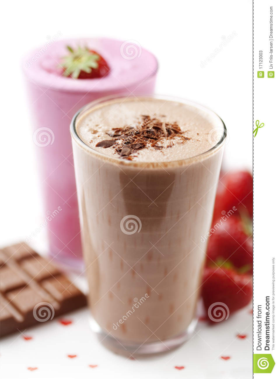 Milk Shake Stock Photos Image 17123003