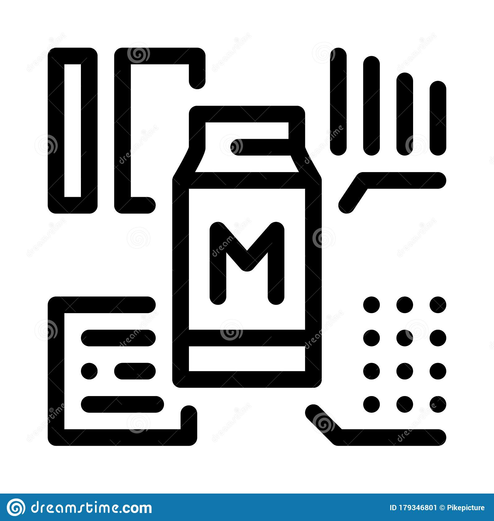 milk structure icon vector outline illustration stock vector illustration of industry factory 179346801 milk structure icon vector outline illustration stock vector illustration of industry factory 179346801