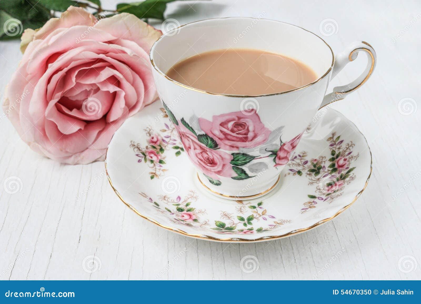 how to make white tea with milk