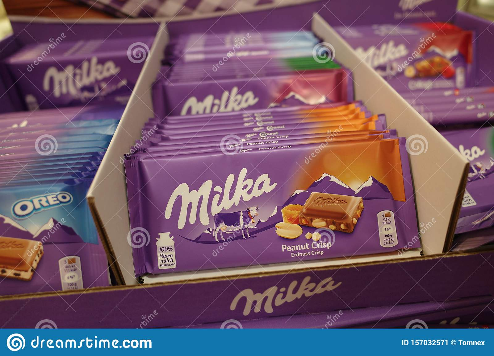 Milka Chocolate In A Shop Editorial Photo Image Of Food