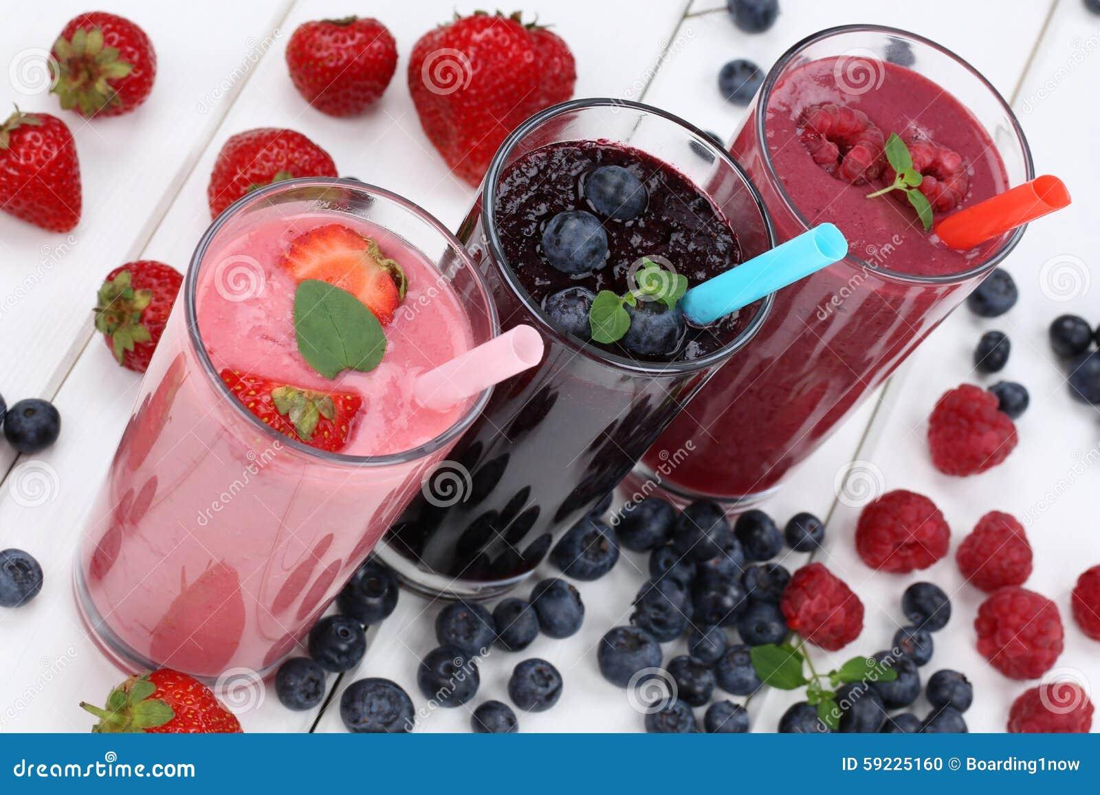 Milkshake фруктового сока Smoothie с плодоовощами