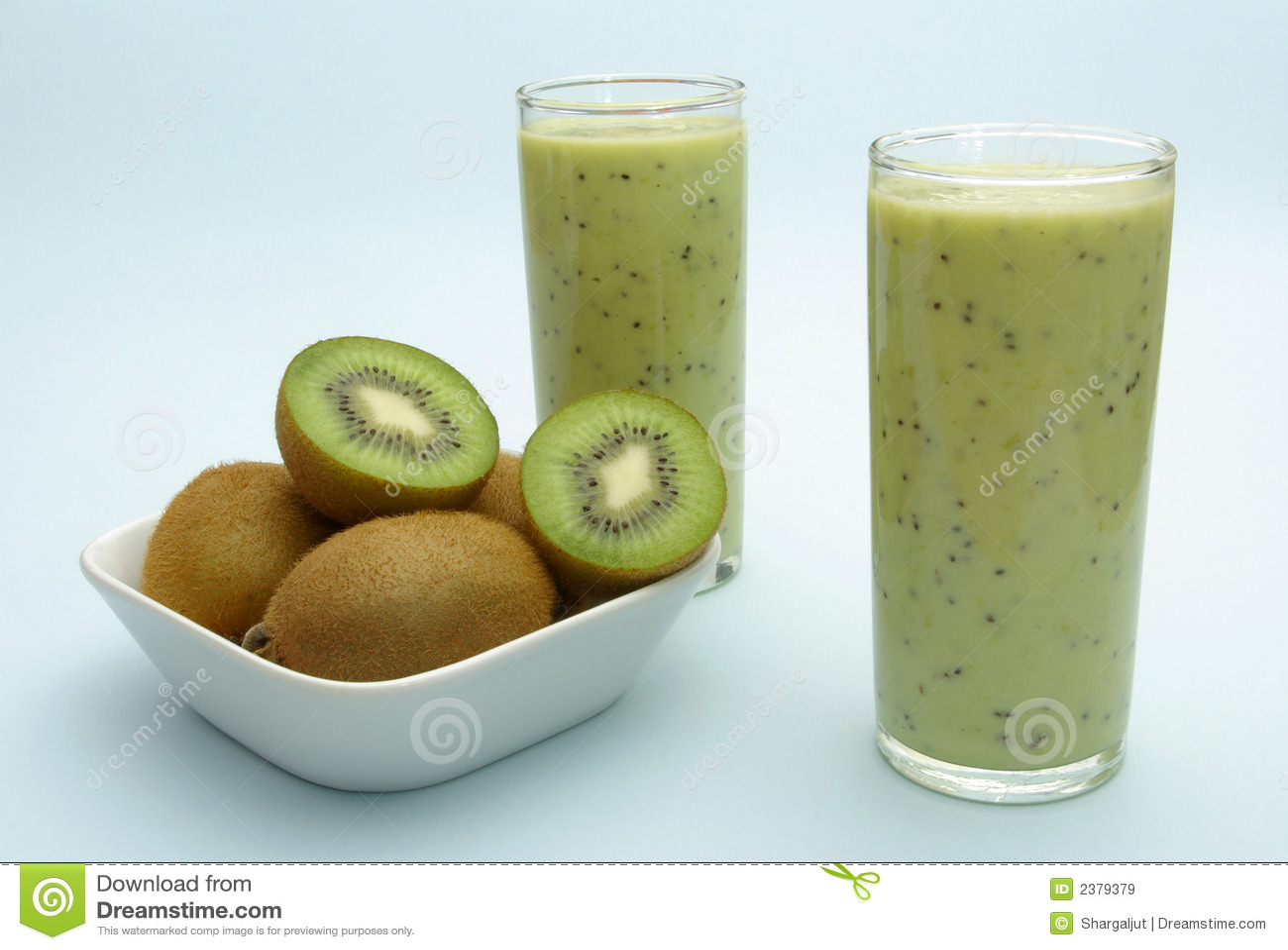 Milkshake del kiwi