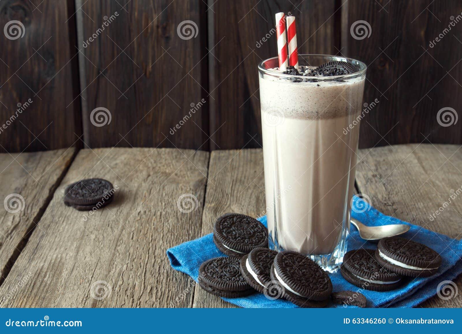 Milkshake med kakor