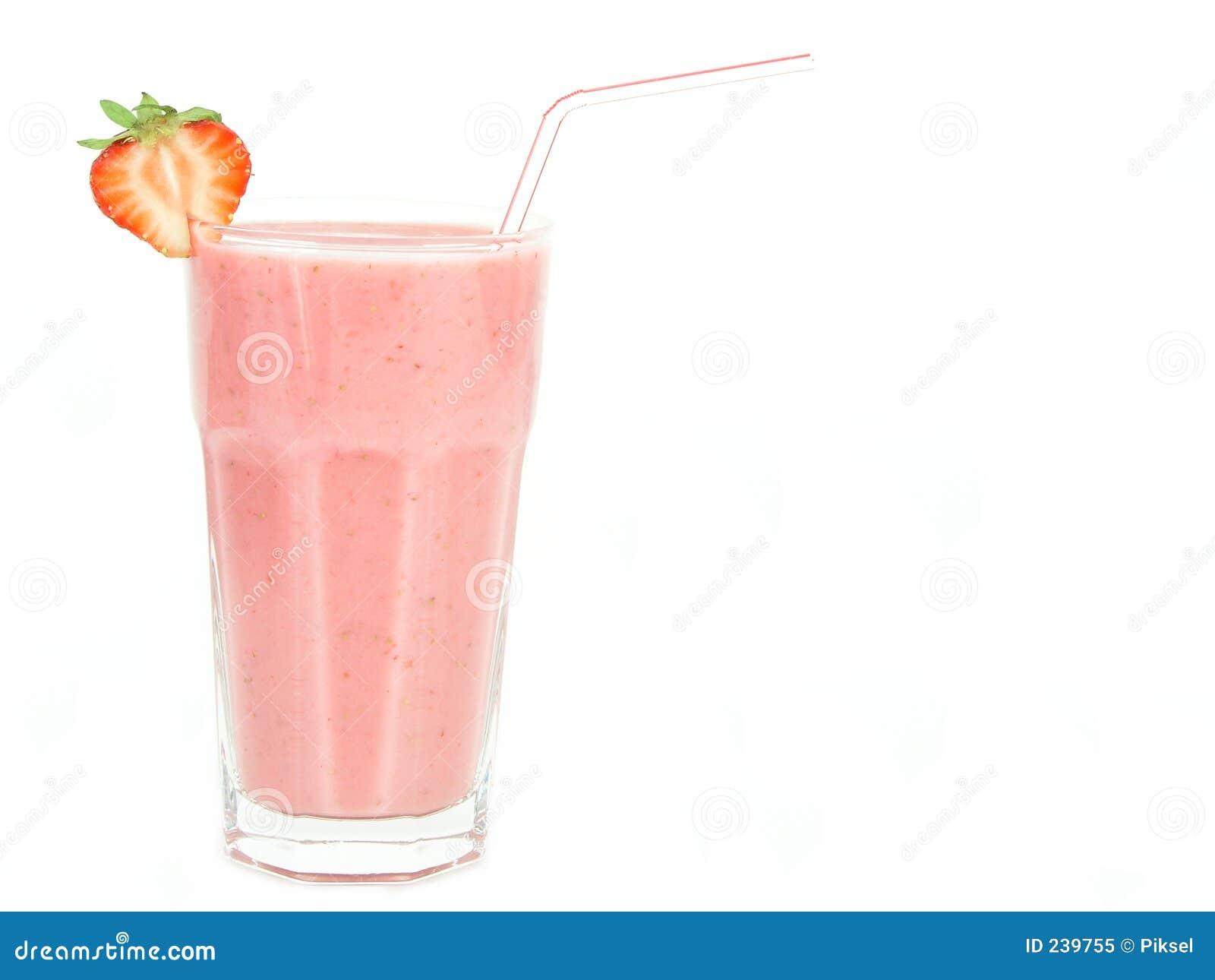 Milkshakejordgubbe
