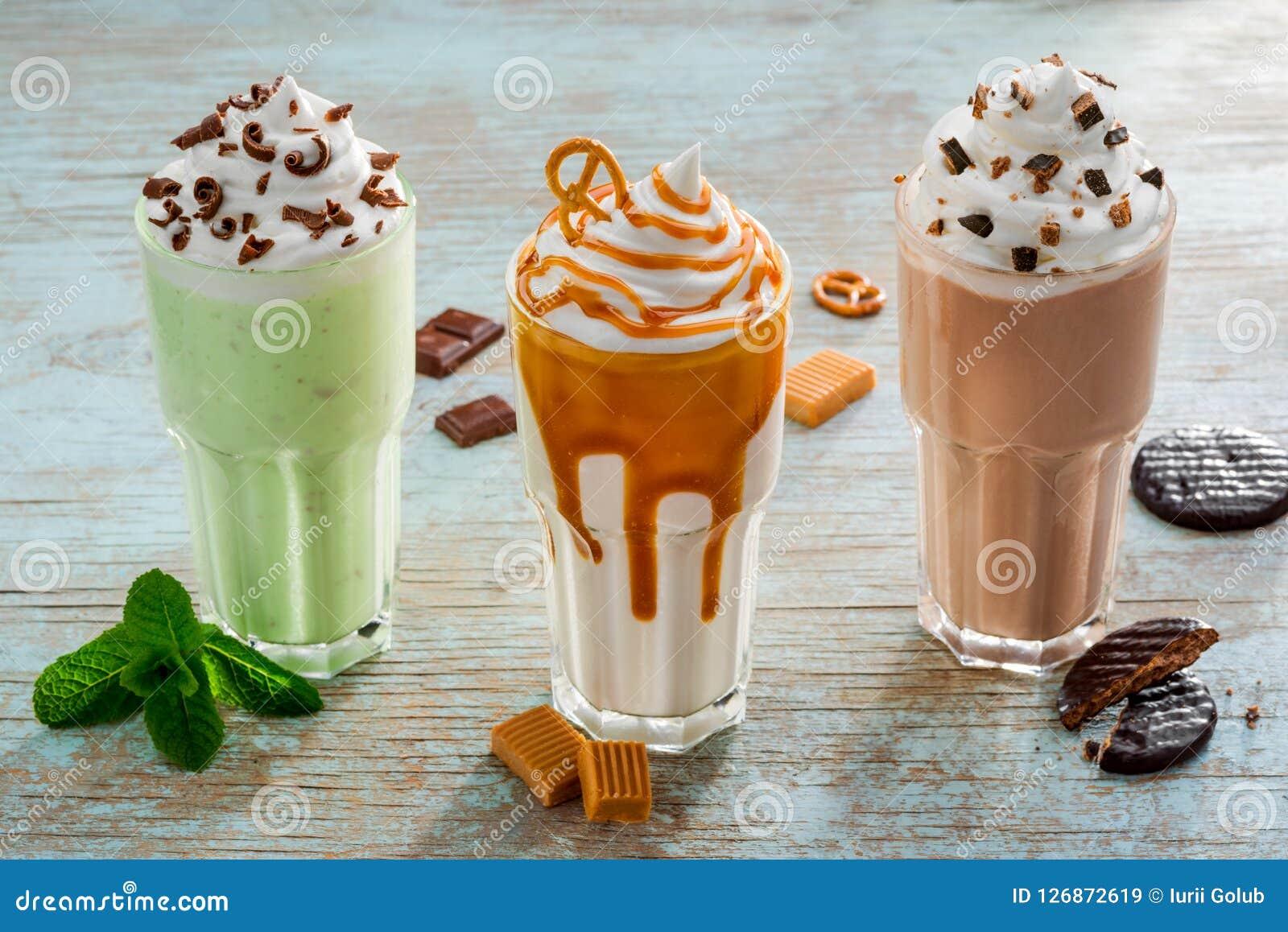 Milkshakes ως συμπαθητικές παραλλαγές για το θερινό χρόνο