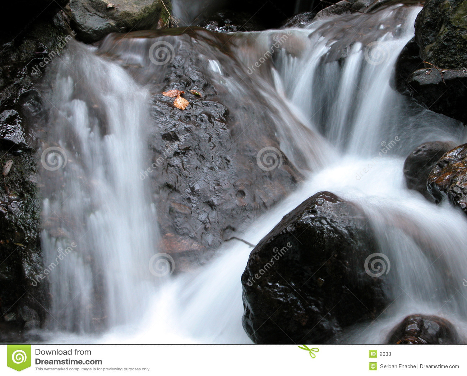 Milky водопад