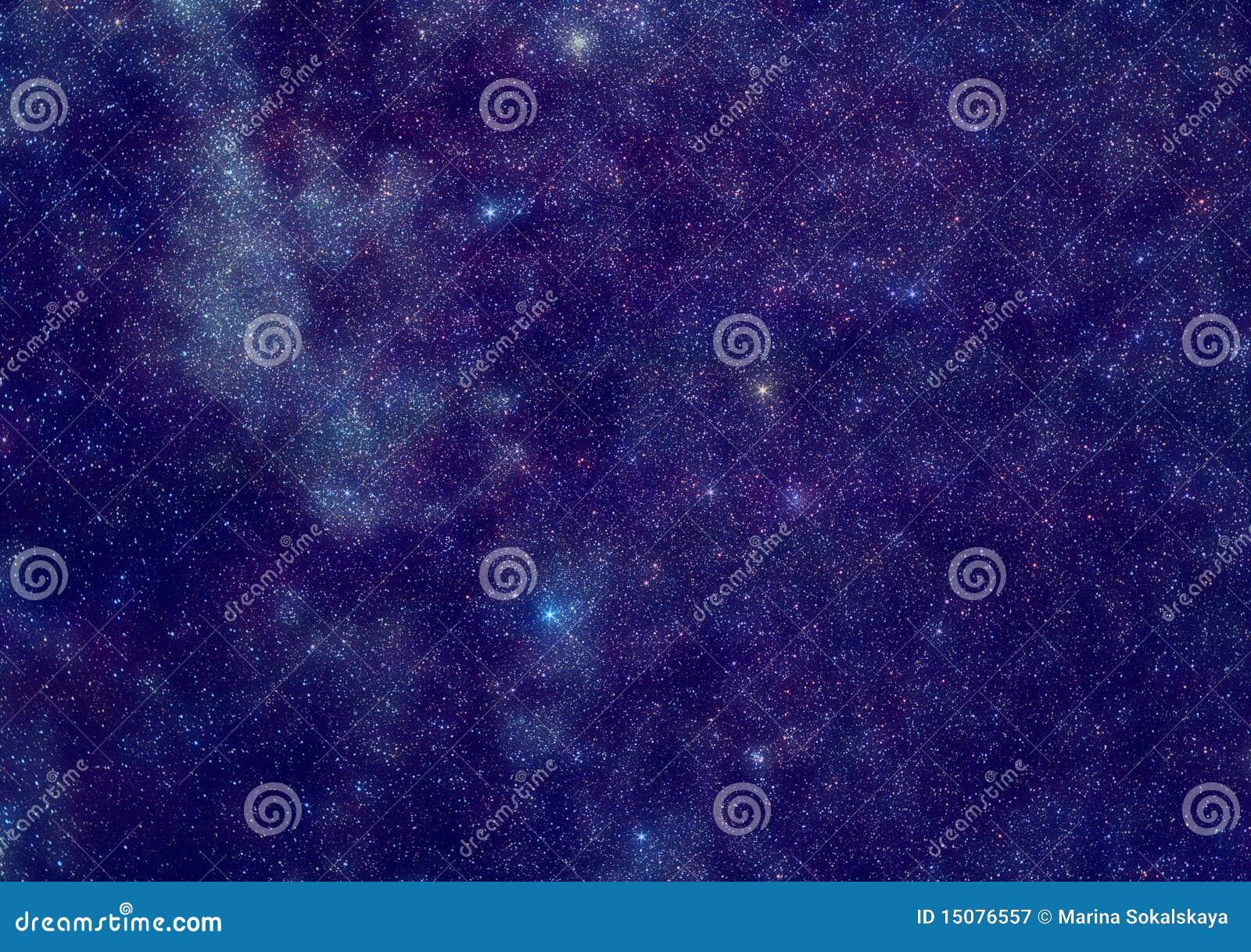 Milky путь звезд