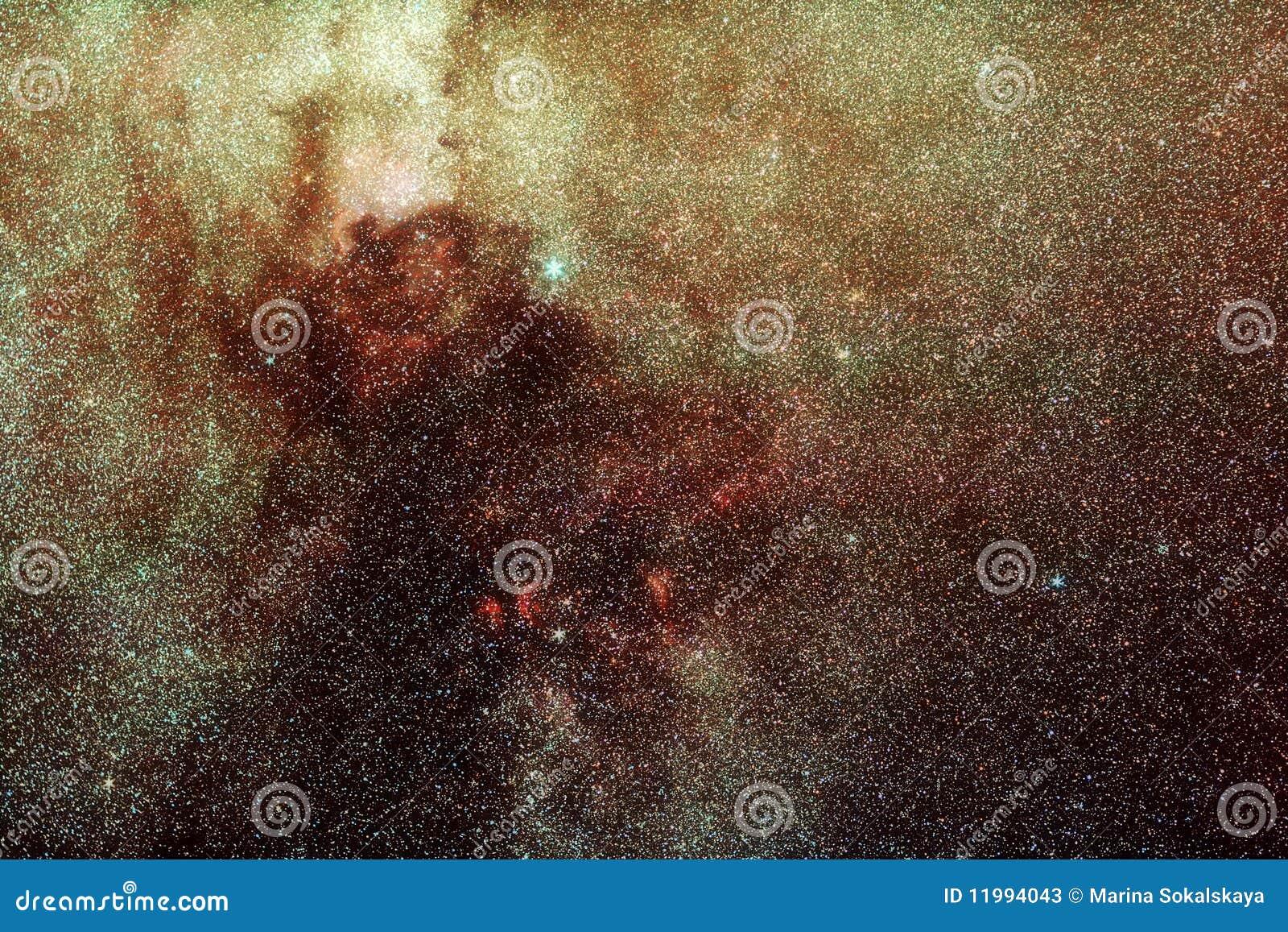 Milky universum långt