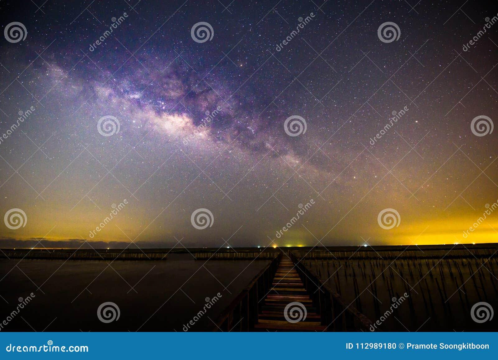 Milky way at the bridge