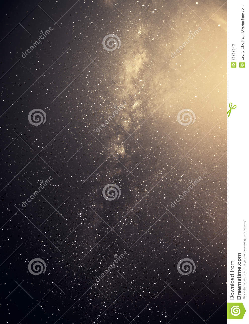 Milky Way Galaxy Stock Photography - Image: 31818142