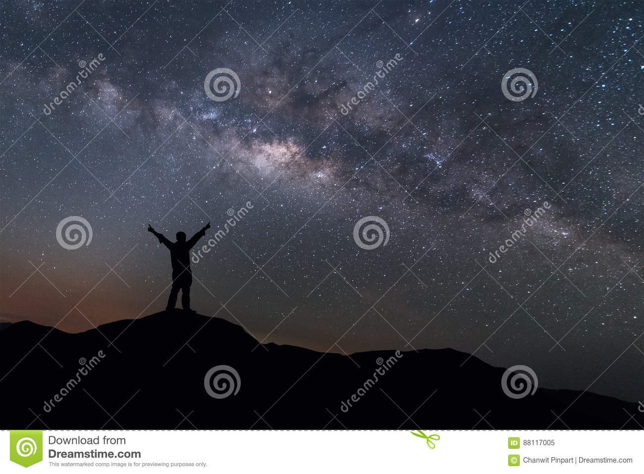 Image result for standing on a mountaintop looking at stars