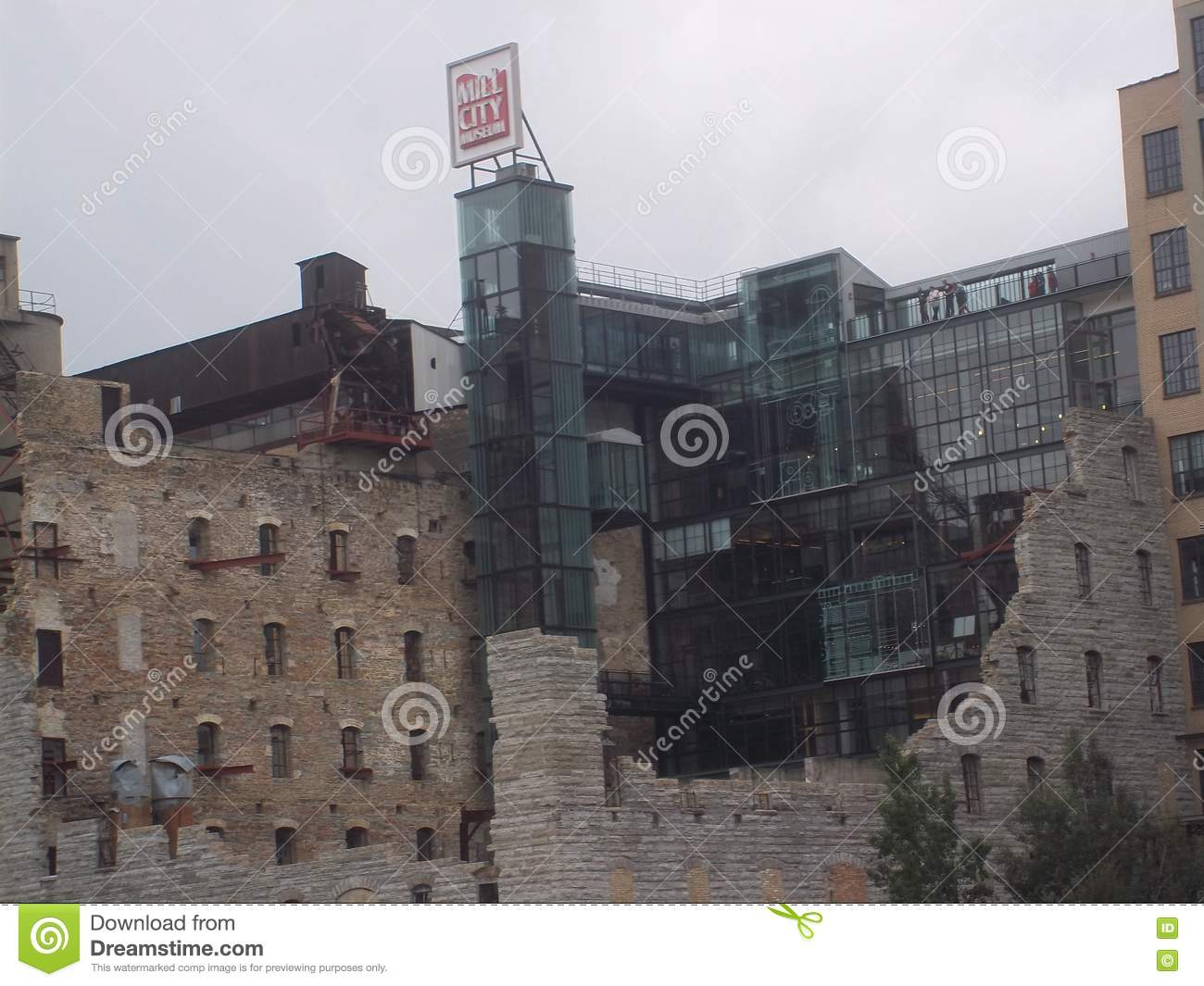 Mill City Museum and Ruins in Minneapolis