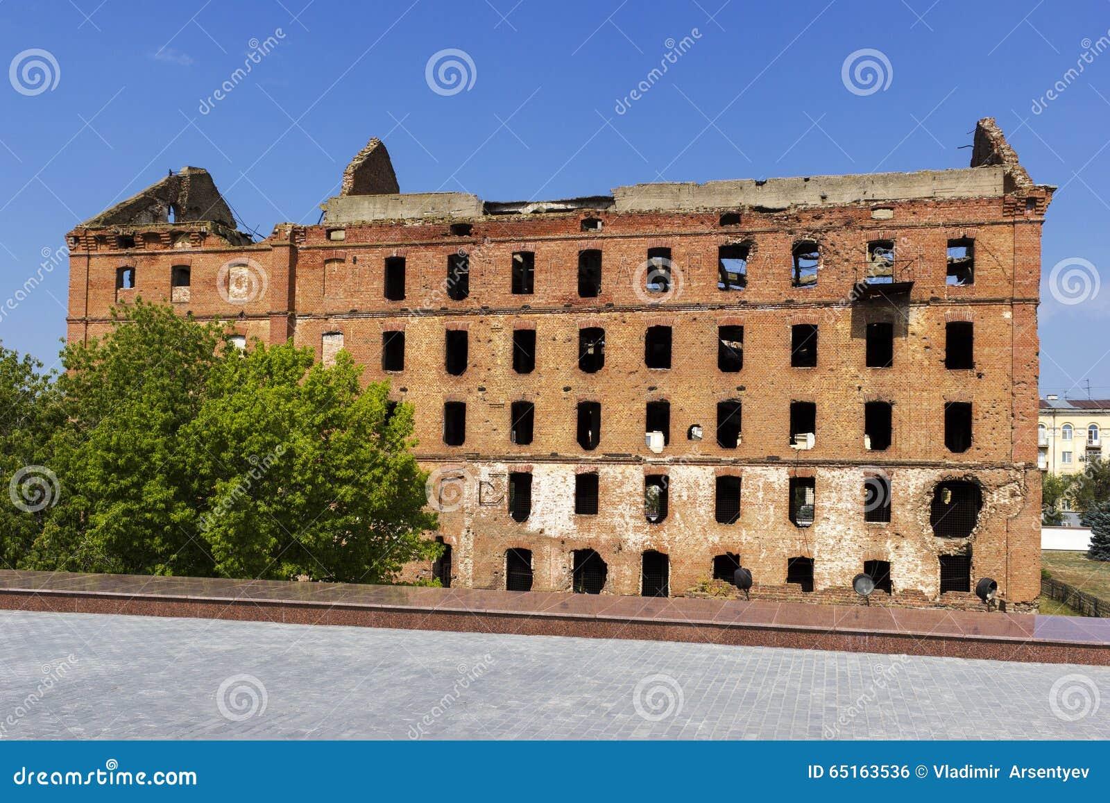 Ruined mill of Gergardt in Volgograd 50