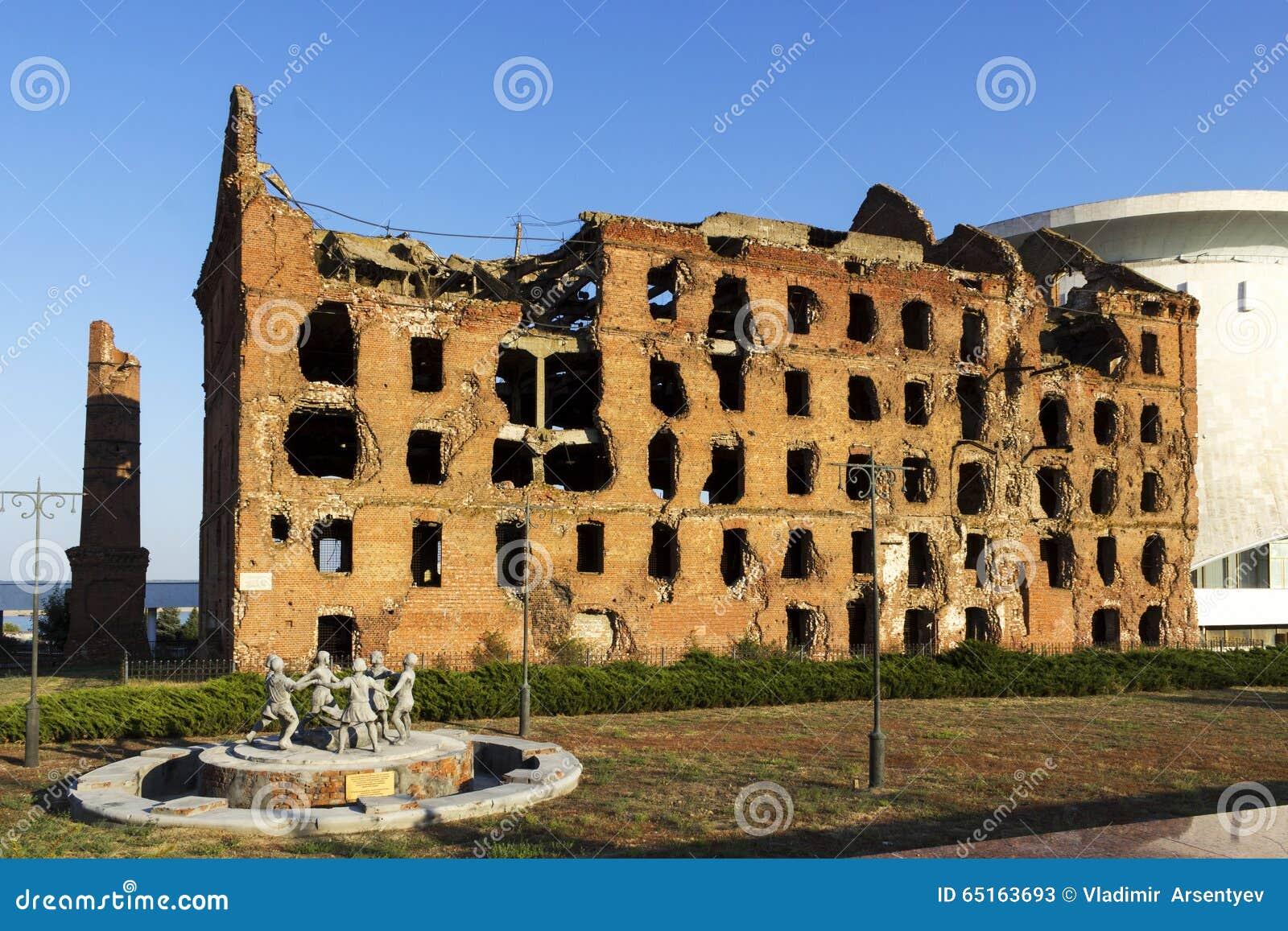 Ruined mill of Gergardt in Volgograd 23