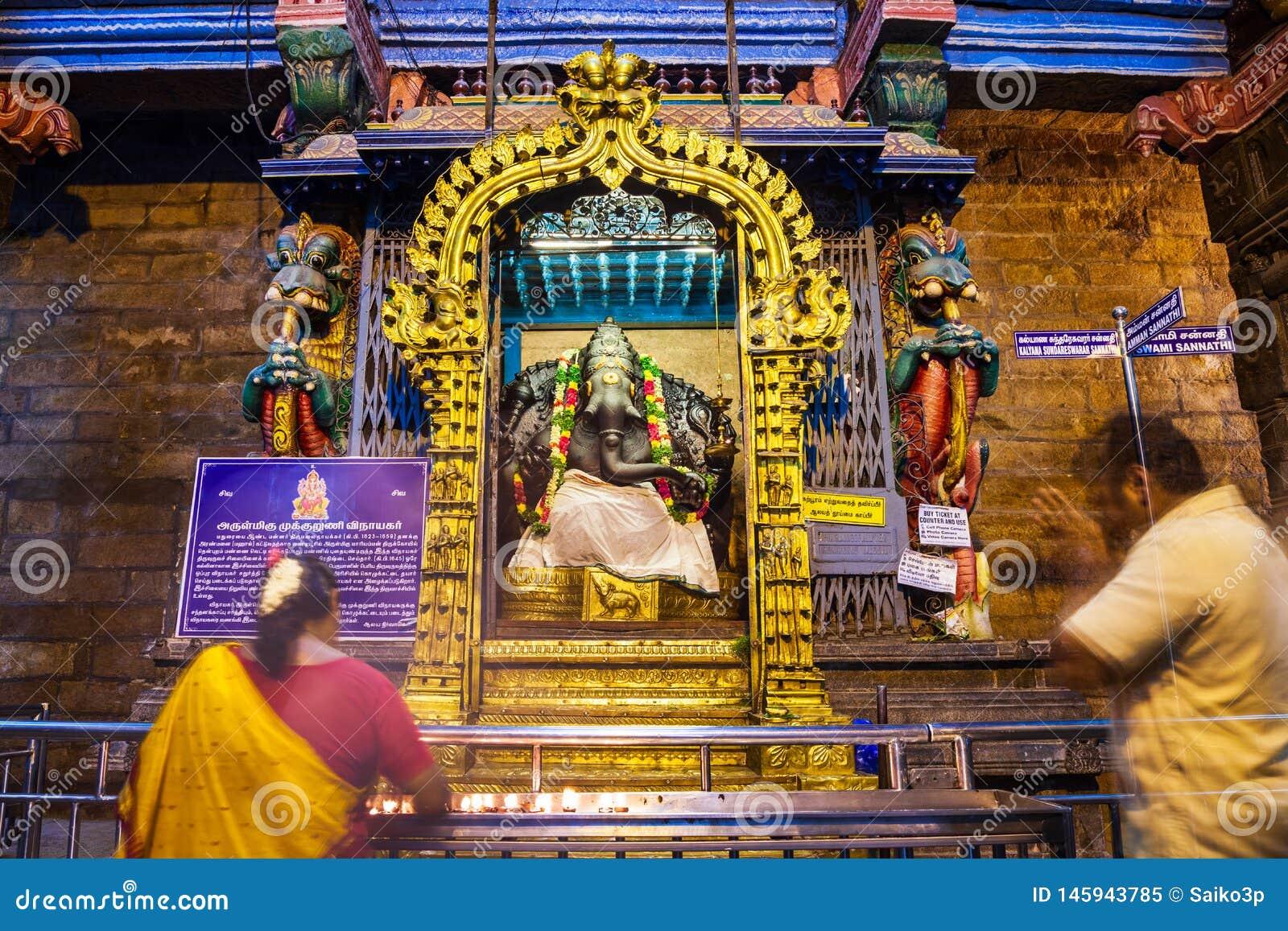 Mille halls de pilier, temple de Meenakshi