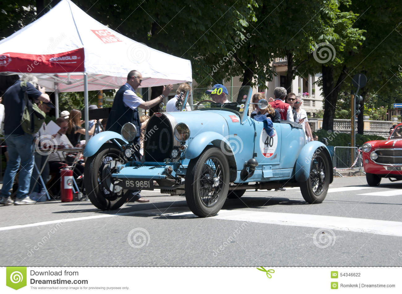 mille miglia 2015 editorial photography - image: 54346622
