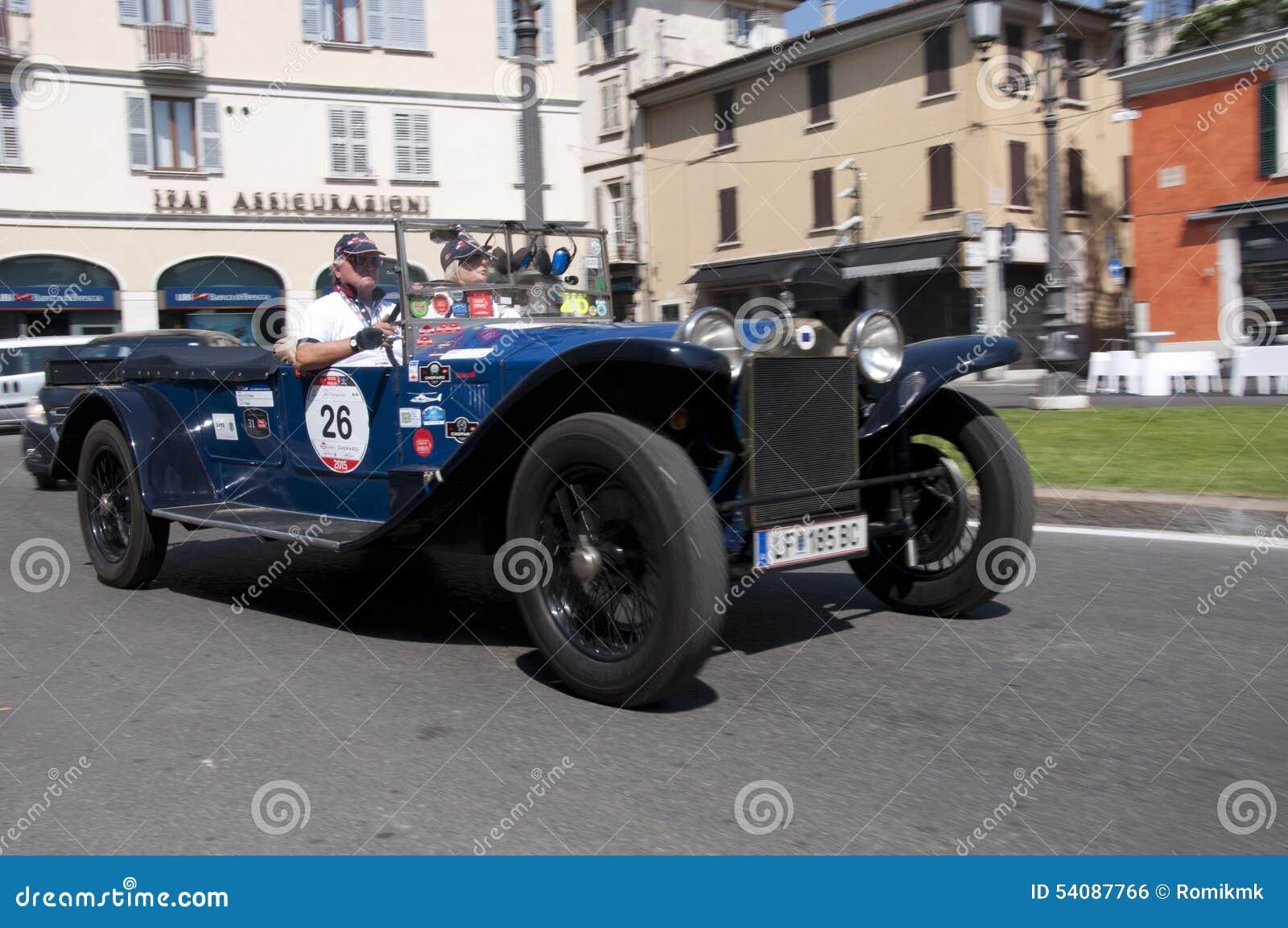 Mille Miglia, het beroemde ras voor retro auto s