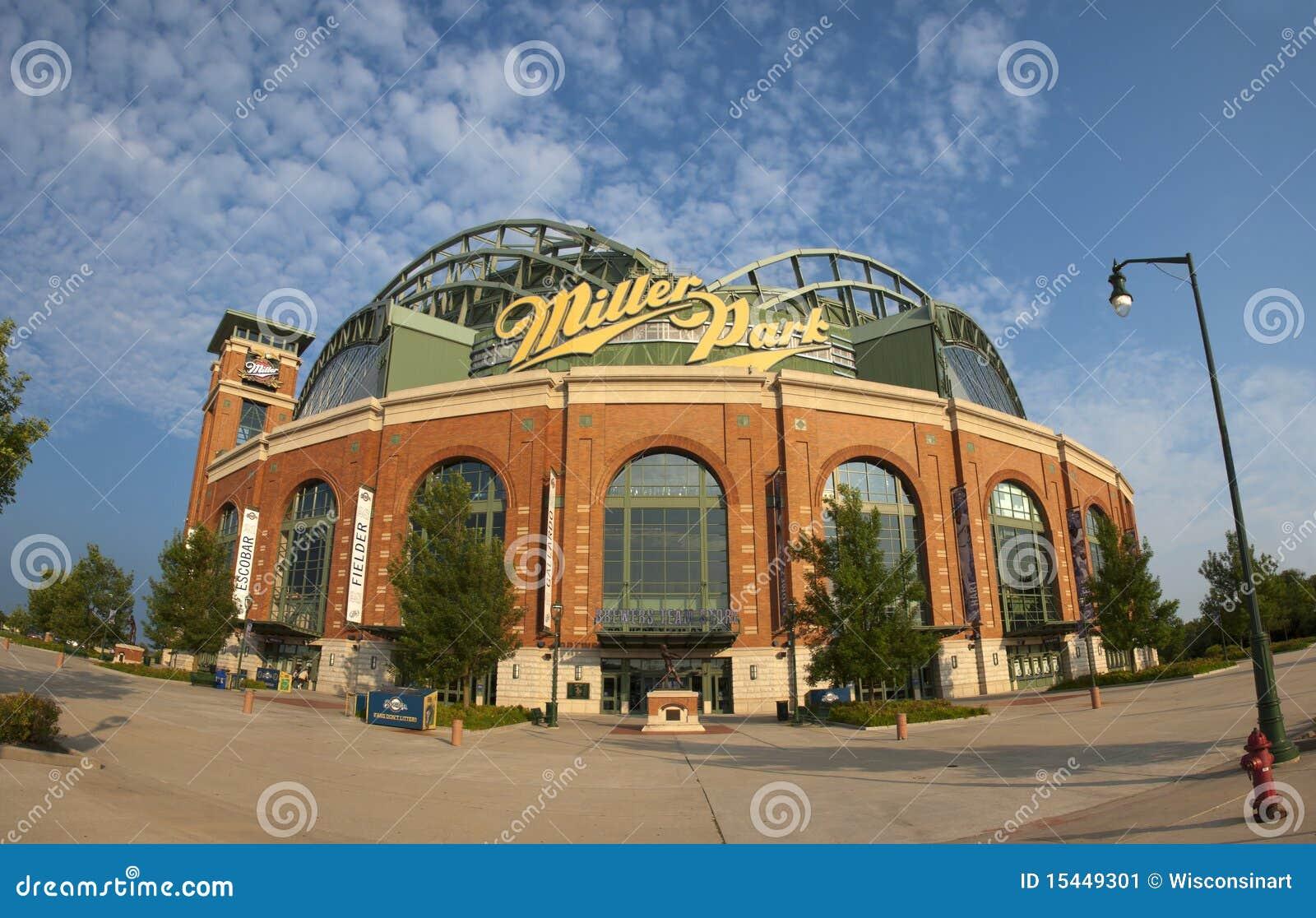 Milwaukee Brewers Bedroom In A Box Major League Baseball: Miller Park Milwaukee Brewers MLB Baseball Editorial Photo
