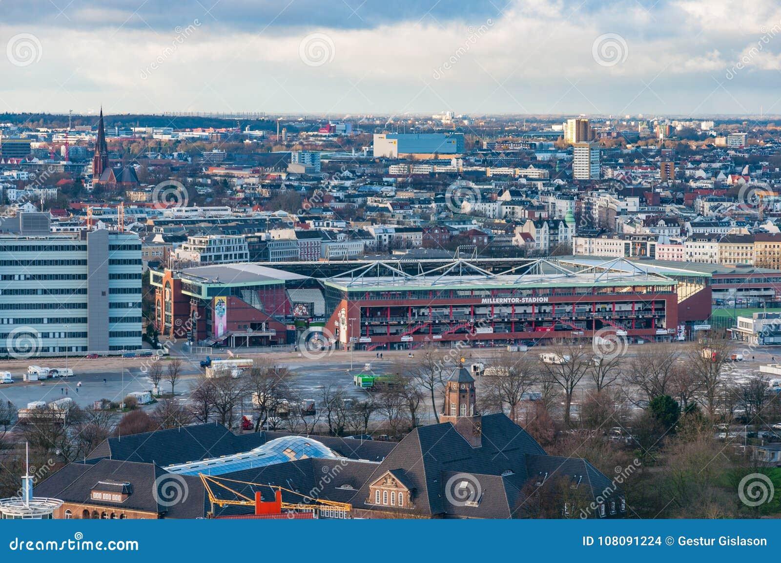 Millerntor Stadion es el estadio casero de St alemán Pauli del equipo de fútbol