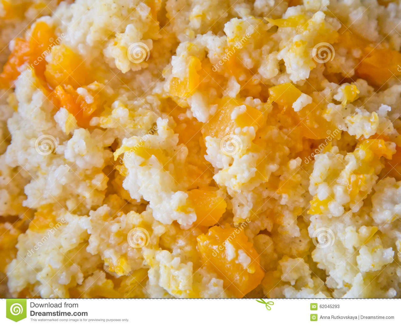 Millet Porridge Stock Photo - Image: 62045293