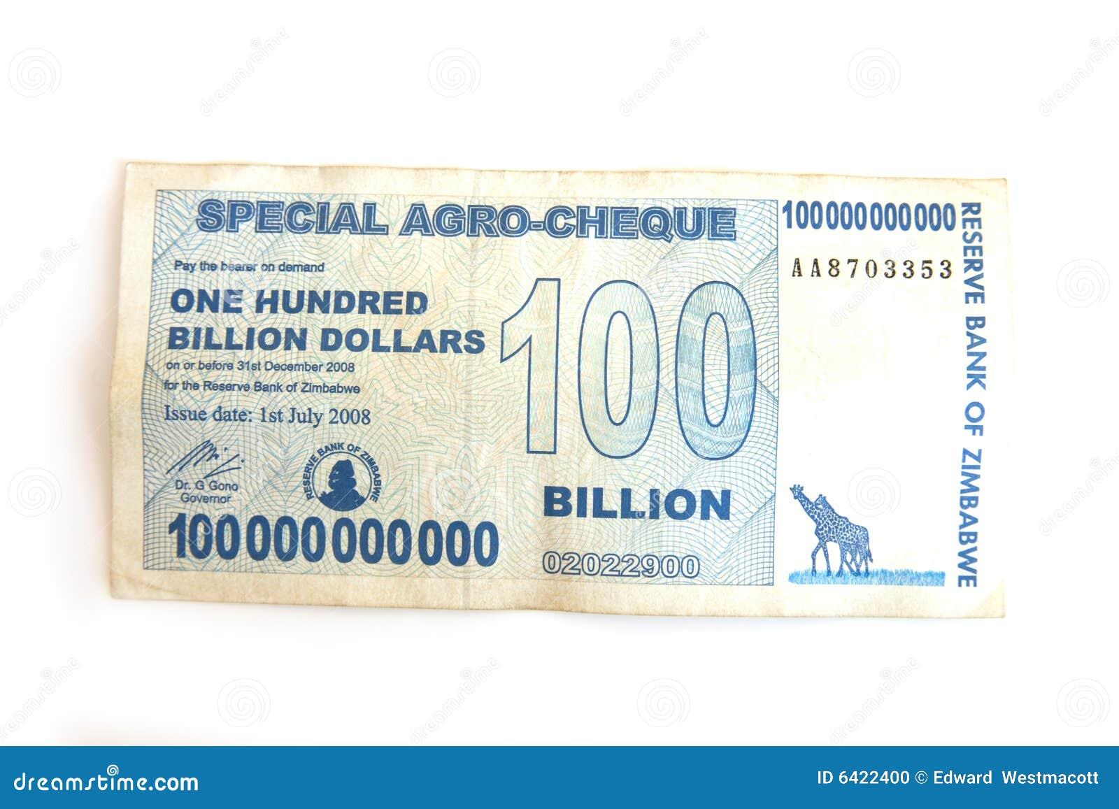 Milliard de note du dollar cent