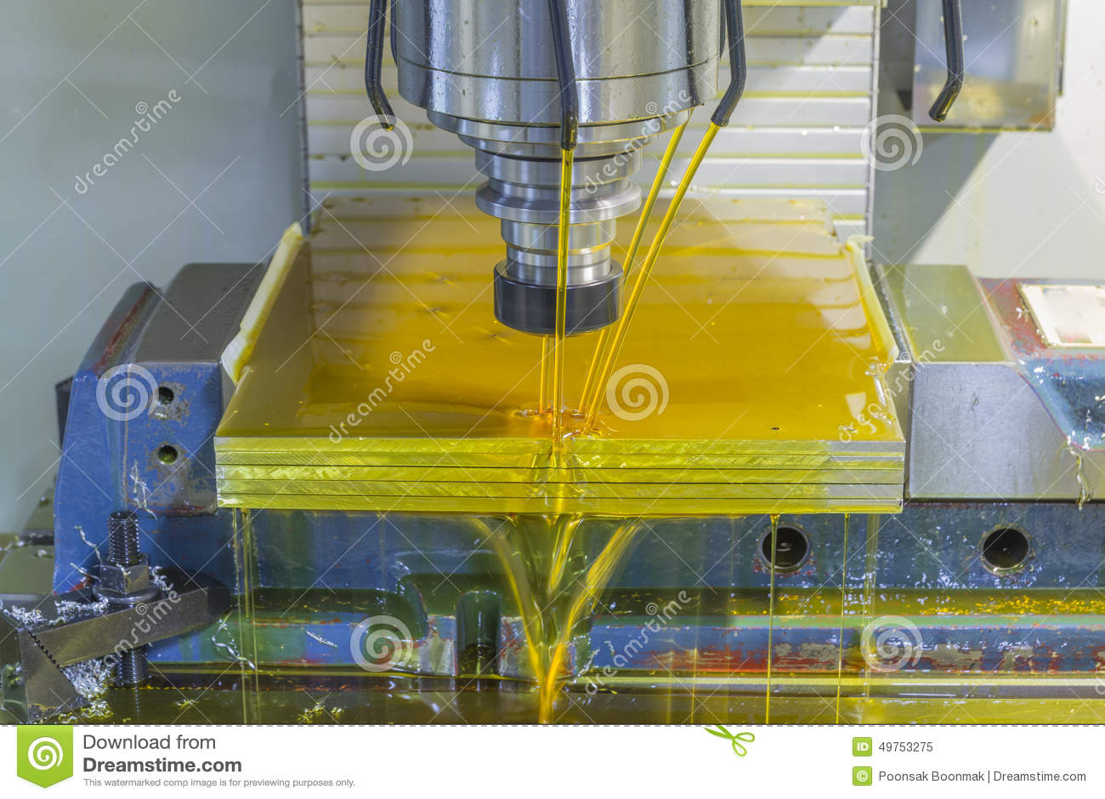 milling machine coolant