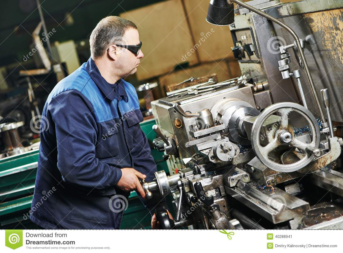 an analysis of the work of a machine operator