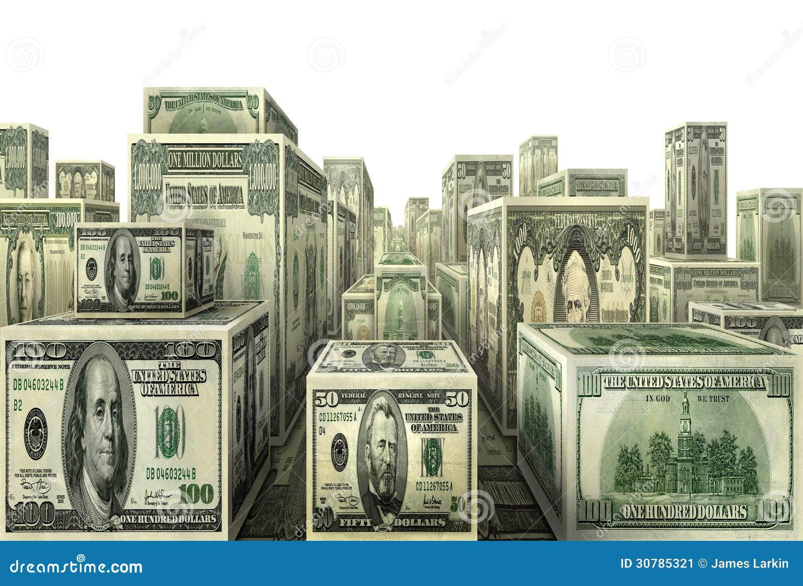 Million dollar city stock image image 30785321