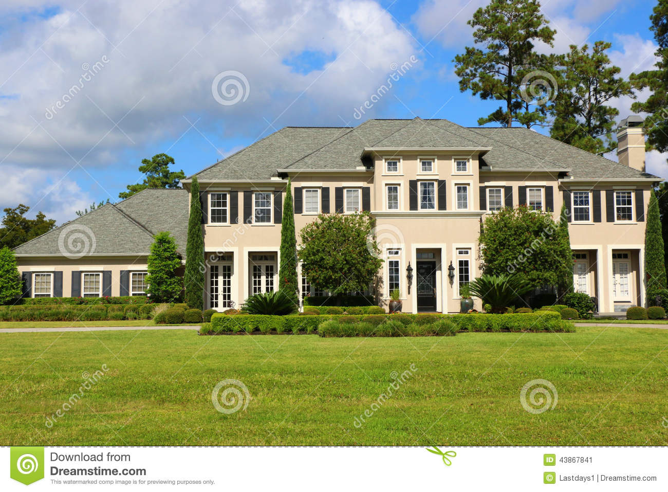Million dollar homes stock image image of executive for Beautiful million dollar homes