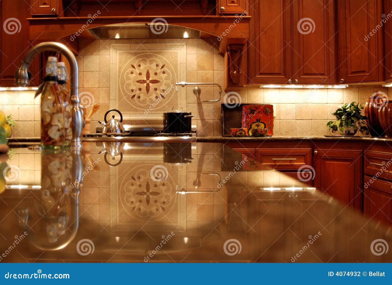 Million Dollar Kitchen Stock Photo Image Of Newly 4074932