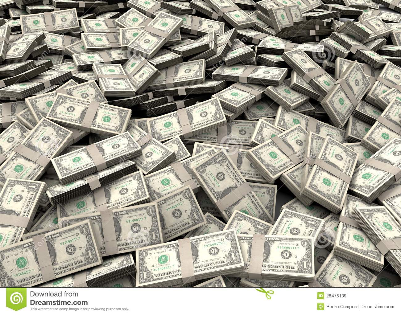 millions of dollars stock image image of banking bank 28476139
