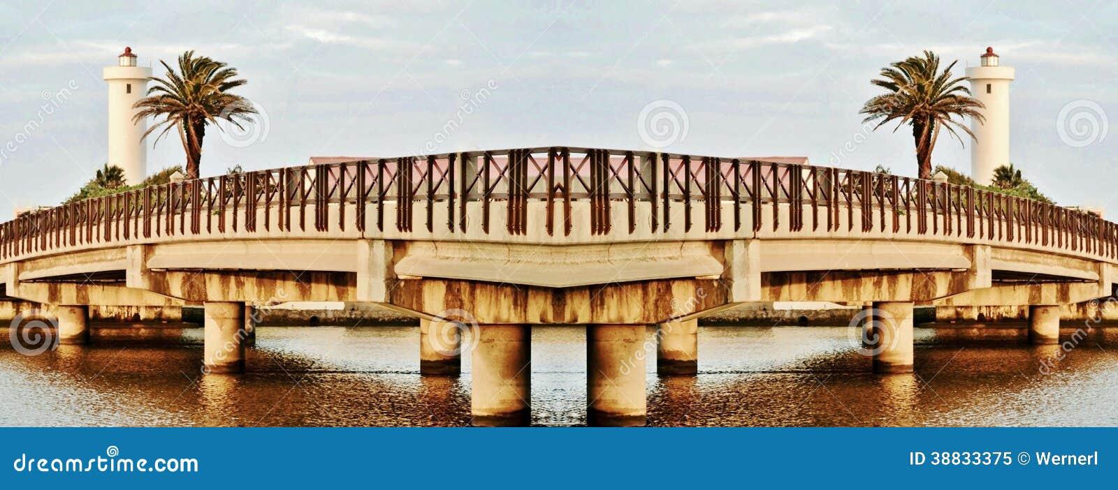 Milnerton most i latarnia morska