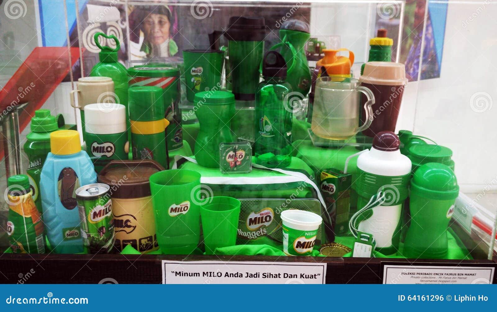 Milo kolekcja butelki