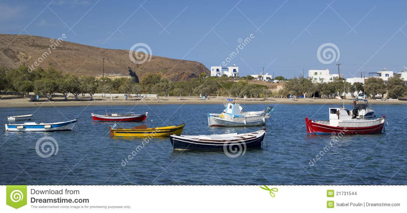 Download Milos island, Greece stock photo. Image of panorama, relax - 21731544