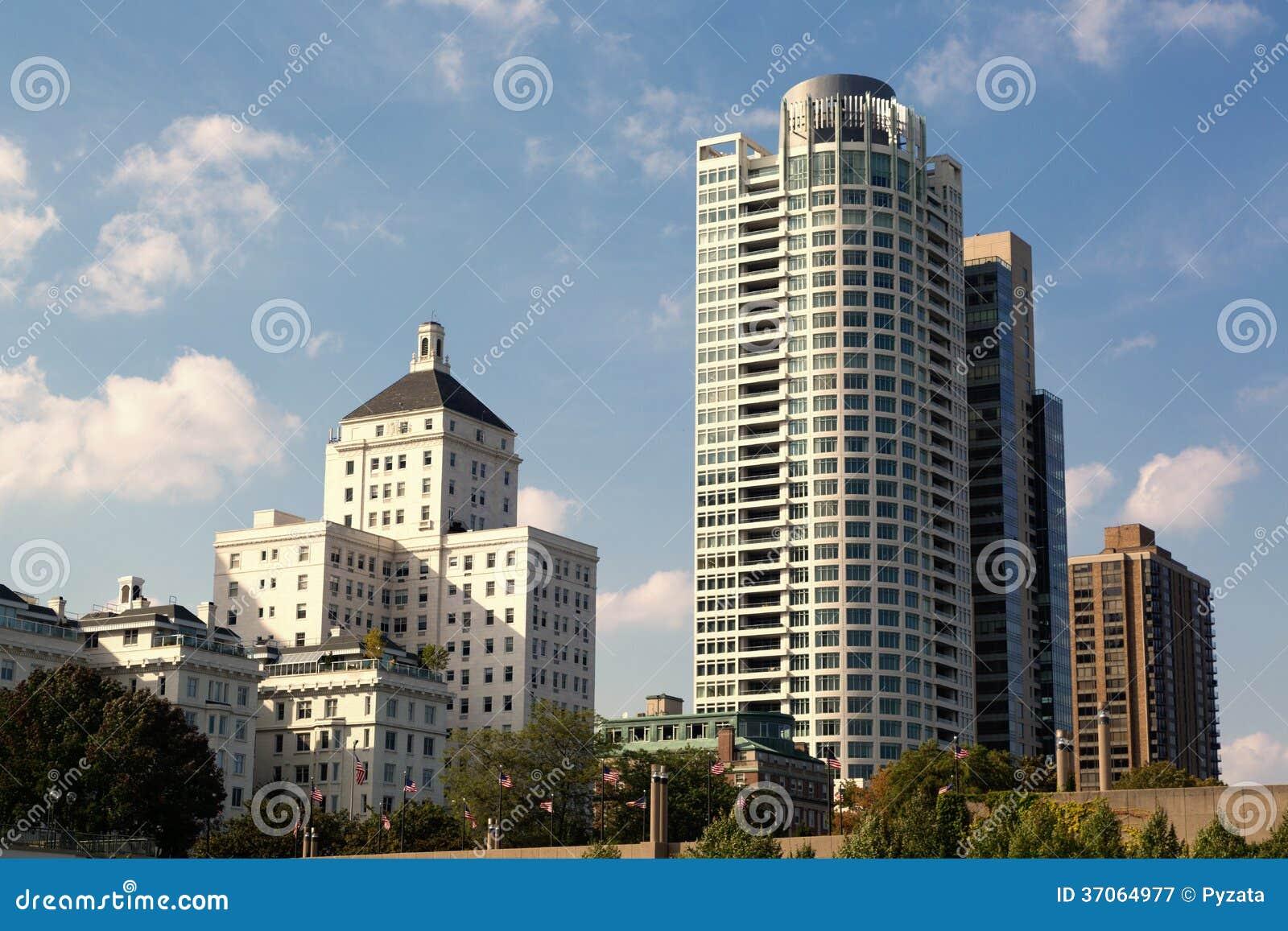 Milwaukee im Stadtzentrum gelegen