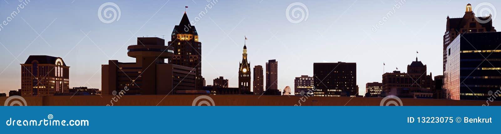 Milwaukee panorâmico