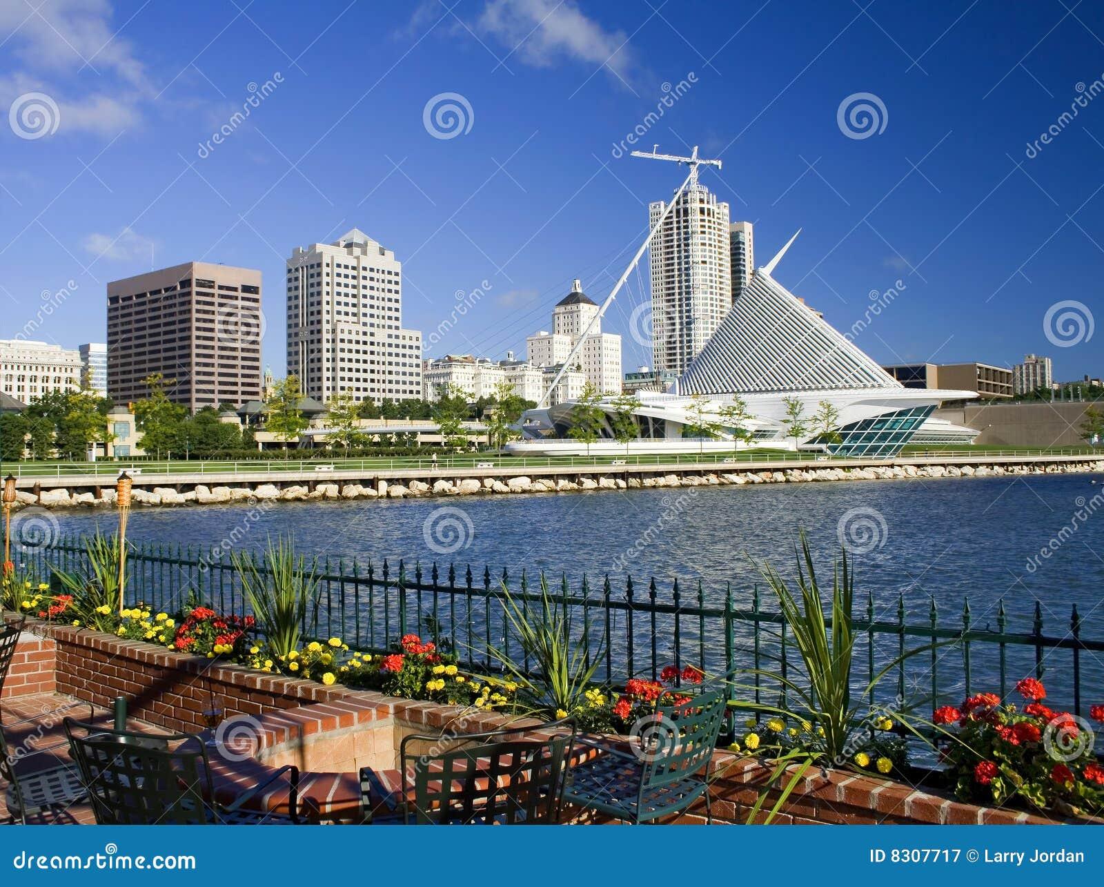 Milwaukee Waterfront Skyline