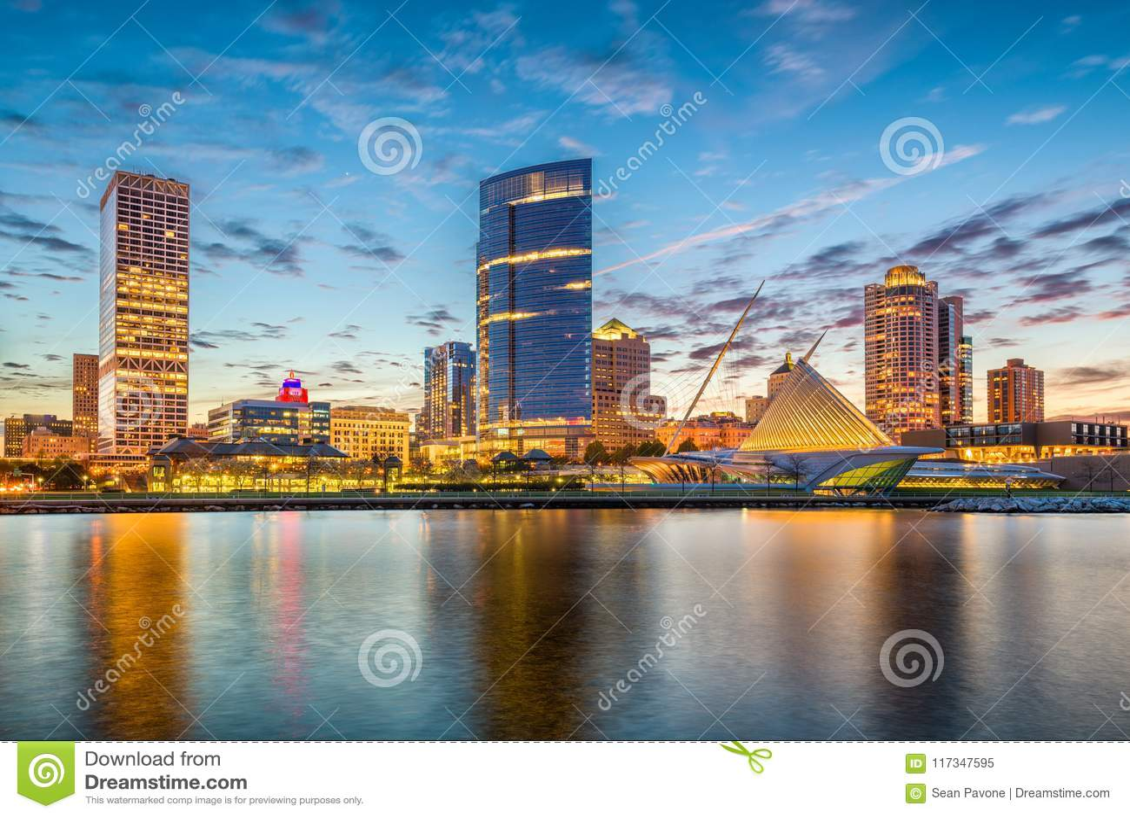 Milwaukee Wisconsin, USA horisont