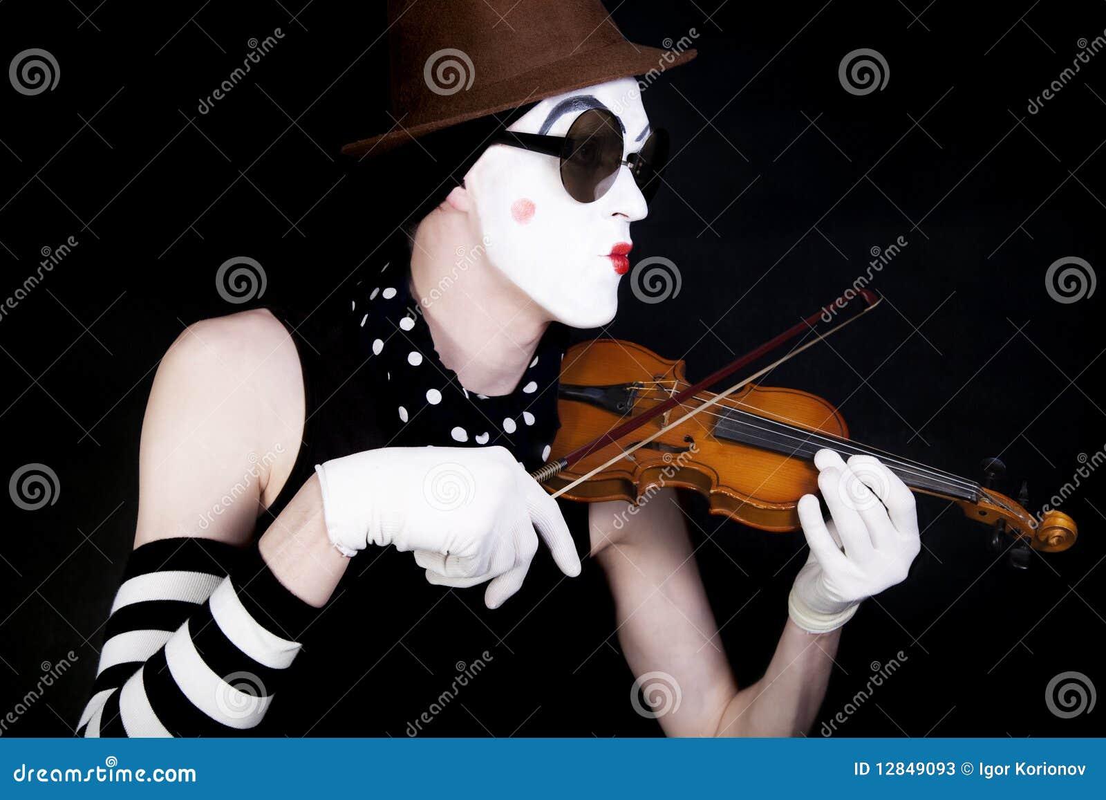 Mime βιολί γυαλιών ηλίου παι&