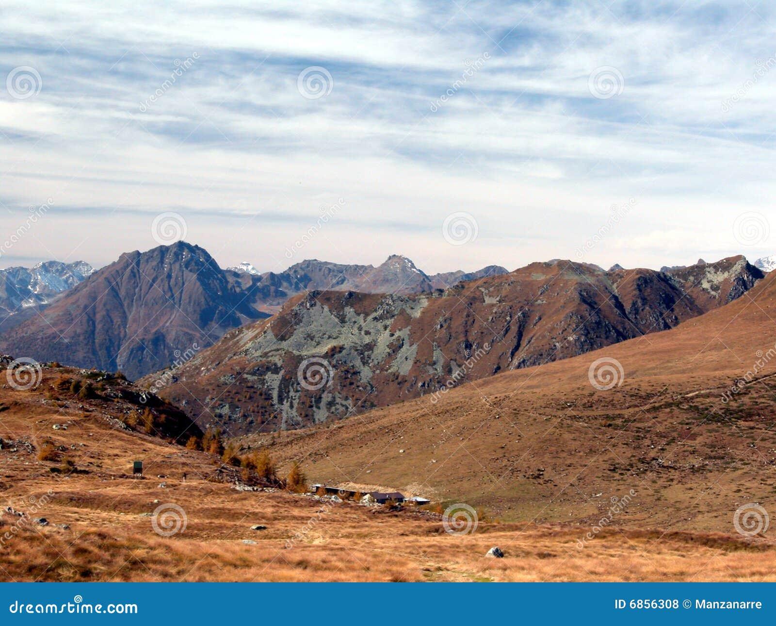 Mimetic горы
