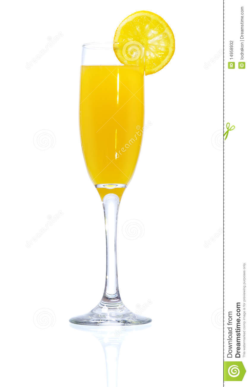 Stock image of Mimosa Cocktail Mimosa Drink Clipart