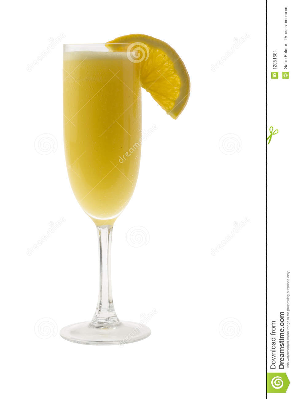 Mimosa cocktail stock image image 12851681 for Cocktail mimosa