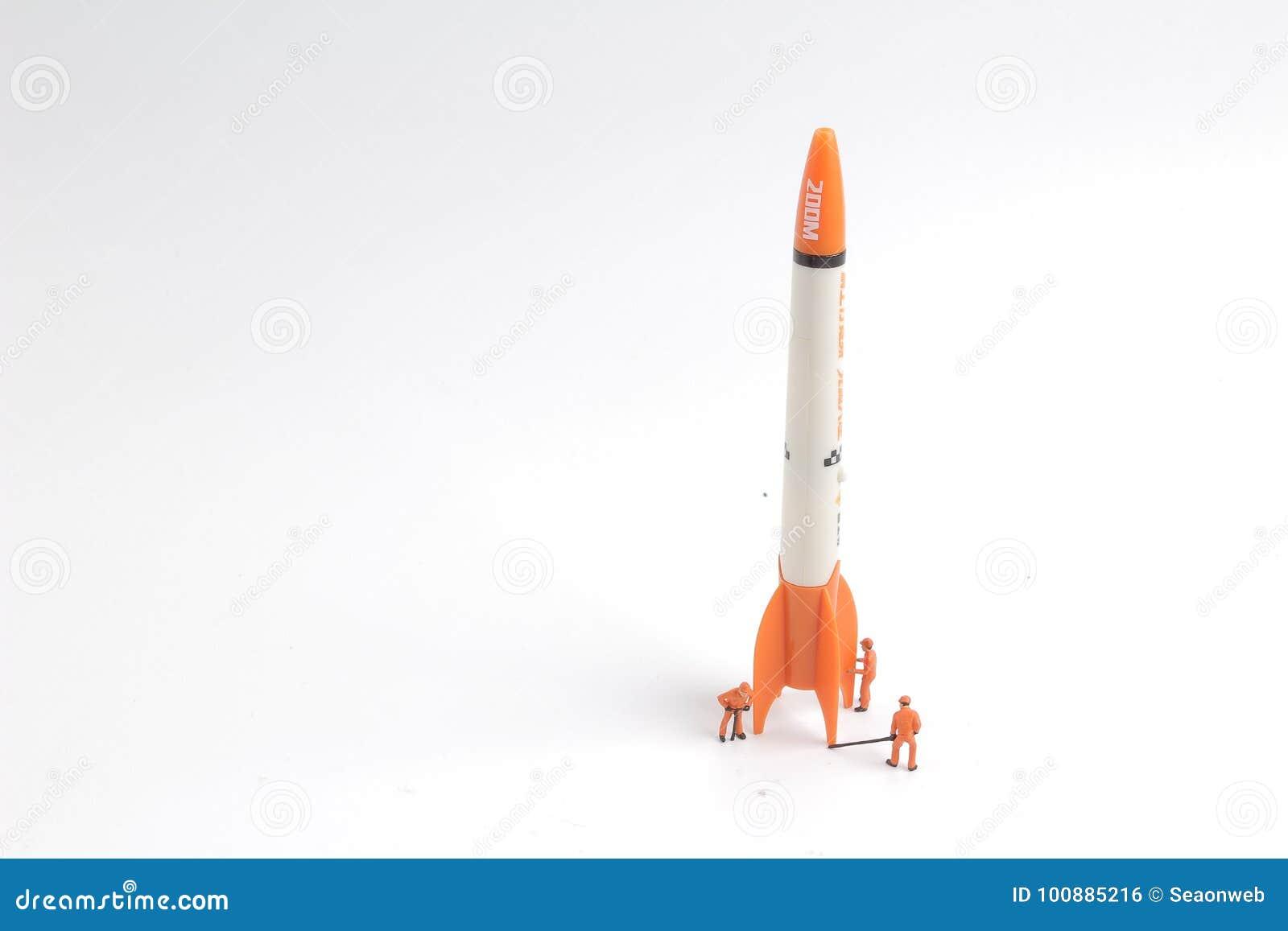 Retro Rocket Ship Stock Photos