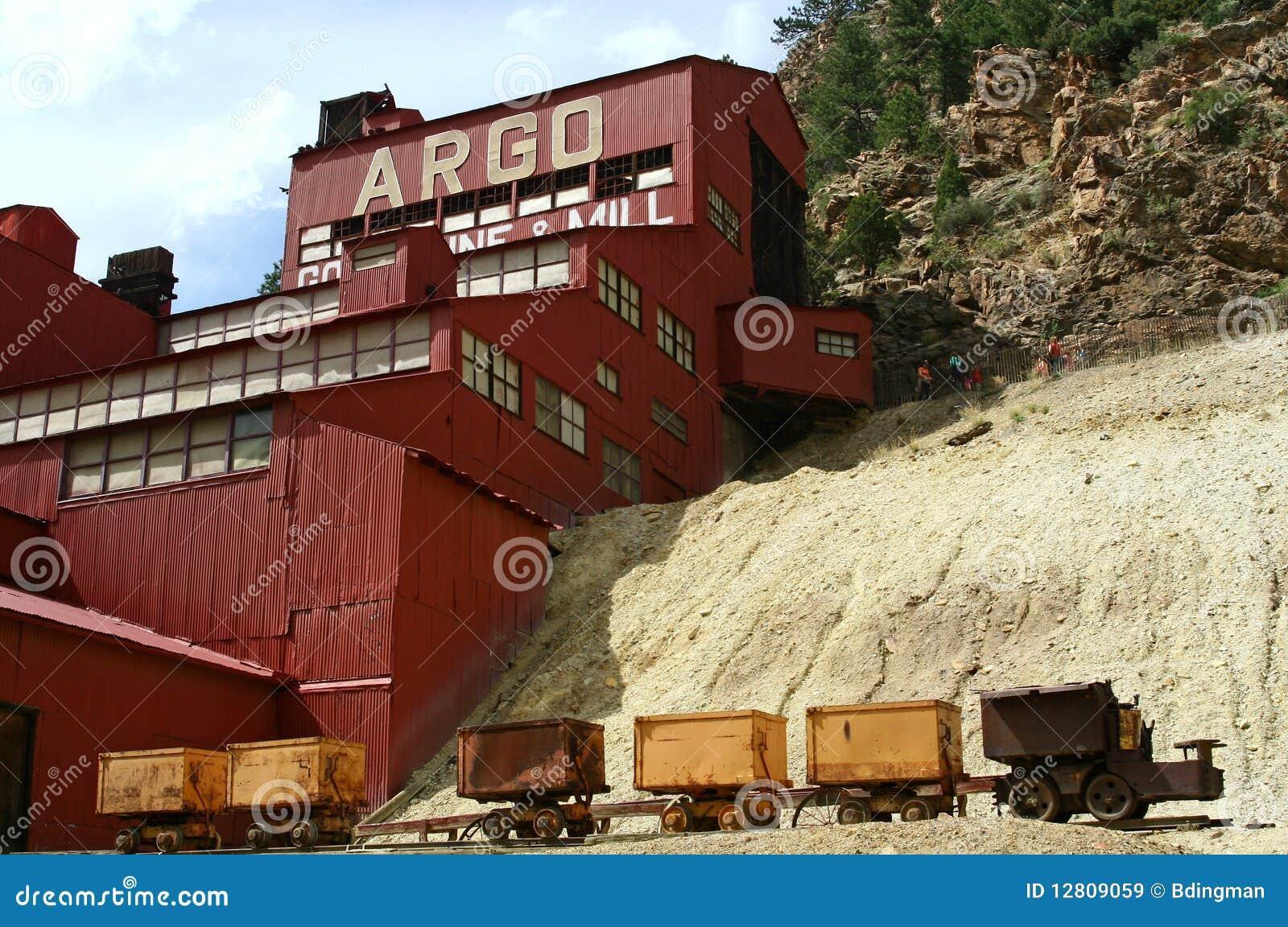 Mina & moinho de ouro de Argo