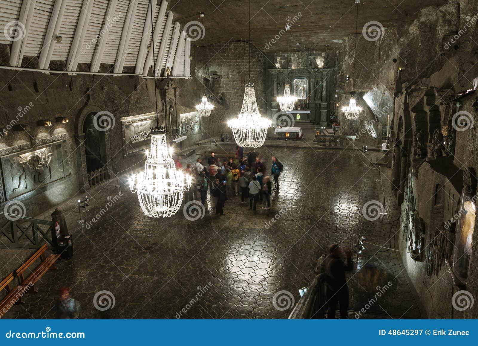 Mina de sal de Wieliczka